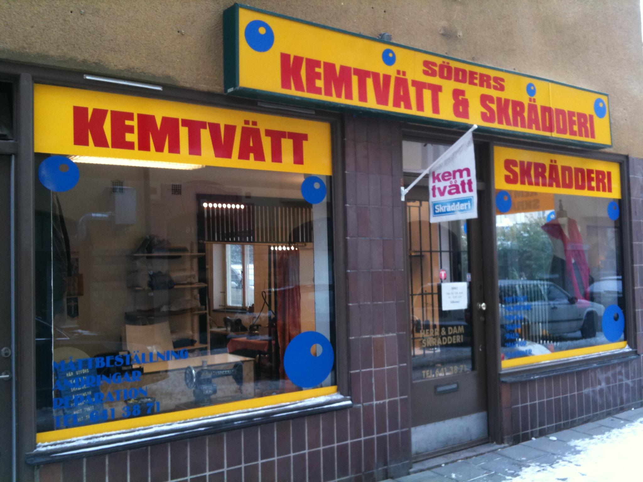 Erikas Skrädderi Södermalm